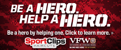 Sport Clips Parkway Trails​ Help a Hero Campaign